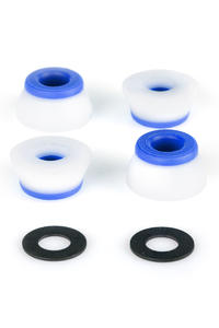 Bones 81A Hardcore-Soft Lenkgummi inkl. Washer (white blue)