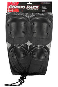 187 Killer Pads Combo Protection-Set (black)