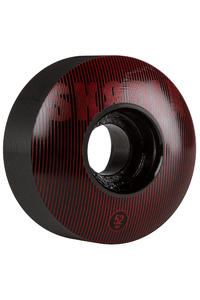 SK8DLX Stripe Series 52mm Wheel (black red) 4 Pack