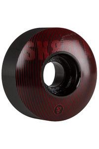 SK8DLX Stripe Series 52mm Rollen (black red) 4er Pack