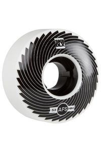 SK8DLX AFS Turbo Series 53mm Rollen (white black) 4er Pack