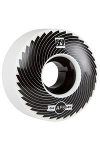 SK8DLX AFS Turbo Series 54mm Wheel (white black) 4 Pack