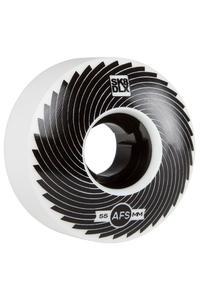 SK8DLX AFS Turbo Series 55mm Rollen (white black) 4er Pack