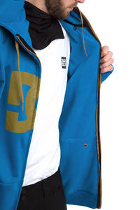 DC Snowstar Snow Zip-Hoodie (nautical blue)