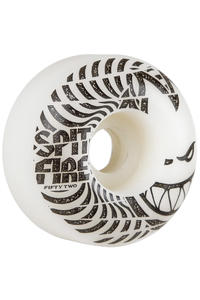 Spitfire Low Downs 52mm Wheel (white) 4 Pack
