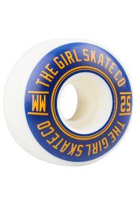 Girl University 52mm Rollen (white blue) 4er Pack