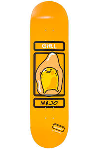 "Girl Malto Sanrio Gudetama 8.125"" Deck (orange)"