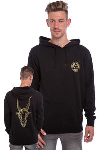 Welcome Golden Goat Lightweight Hoodie (black gold)