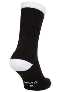 Nike SB Crew Skateboarding Socken (black white) 3er Pack