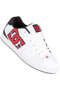DC Net Schuh (white athletic red armor)