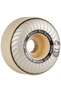 Spitfire Formula Four AVE 52mm Wheel (whiteout) 4 Pack