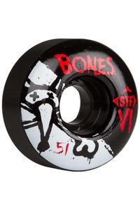 Bones STF-V1 Series II 51mm Rollen (black) 4er Pack