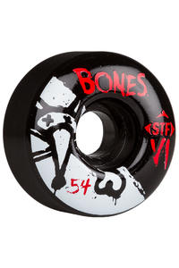 Bones STF-V1 Series II 54mm Rollen (black) 4er Pack