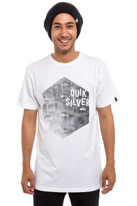 Quiksilver Classic Jumbled Hex T-Shirt (white)