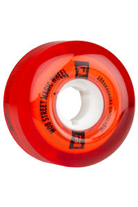 MOB Skateboards Street Magic 57mm Rollen (clear red) 4er Pack