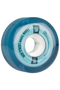 MOB Skateboards Street Magic 57mm Wheel (clear blue) 4 Pack