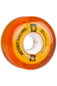 MOB Skateboards Street Magic 57mm Wheel (clear orange) 4 Pack