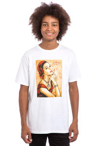 Obey A Message From Our Sponsor T-Shirt (white)