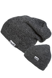 Neff Fold Heather Mütze (black grey)