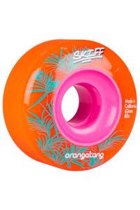 Orangatang Skiff 62mm 80A Rollen (orange) 4er Pack