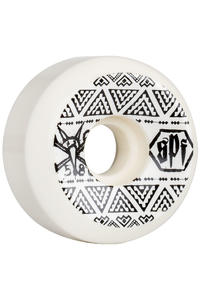 Bones SPF Sidecut 58mm Wheel (white) 4 Pack