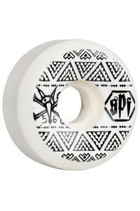 Bones SPF Sidecut 56mm Rollen (white) 4er Pack