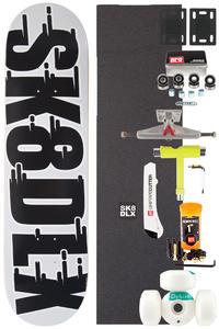 "SK8DLX Swift Series Komplett 8"" Skateboard-Bausatz (black)"