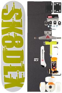 """SK8DLX Swift Series Komplett 8.125"""" Skateboard-Kit (green)"""