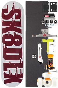 "SK8DLX Swift Series Komplett 8.375"" Skateboard-Bausatz (brown)"