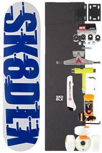 "SK8DLX Swift Series Komplett 7.5"" Skateboard-Bausatz (blue)"
