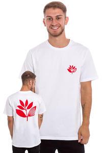 Magenta Plant T-Shirt (white red)