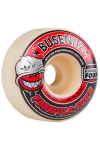 Spitfire Busenitz Ltd. Edition Formula Four 52mm Rollen (white red) 4er Pack