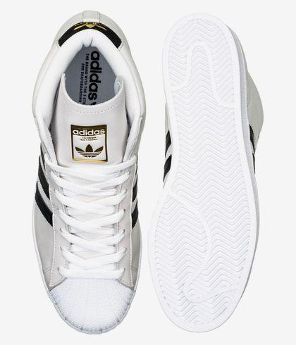 esfuerzo rival desagradable  adidas Skateboarding Pro Model Shoes (white core black gold mint) buy at  skatedeluxe