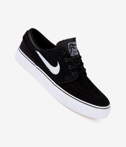 Exquisito Velo Comercialización  Nike SB Stefan Janoski Shoes kids (black white gum medium brown) buy at  skatedeluxe