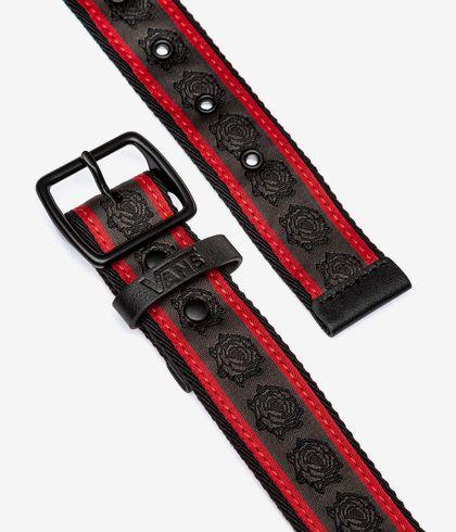 ceinture vans rouge