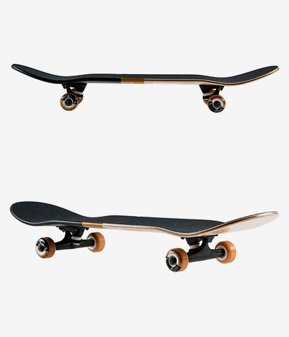 Globe G2 Natural Bloom Pecan Complete Wooden Deck Double Kick Skateboard Skater