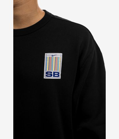 Nike SB Stripes Sweatshirt (black white)
