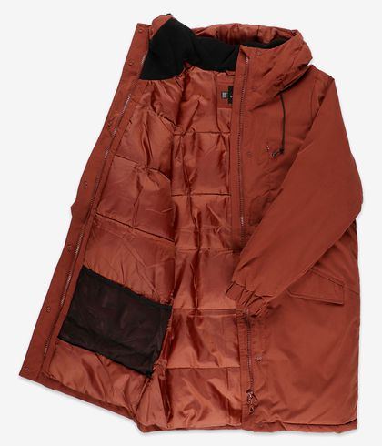 Volcom Puffi Parka Jacket women (brick)