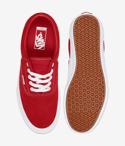 seda Contrapartida Bigote  Vans Era Pro Suede Shoes (red white) buy at skatedeluxe