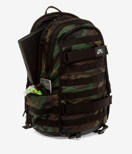 Florecer margen Derechos de autor  Nike SB RPM Backpack 26L (black black black camo) buy at skatedeluxe