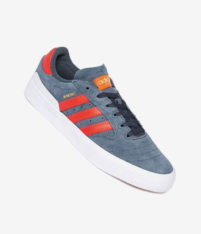 mujer discapacidades estructurales último clasificado adidas Skateboarding Busenitz Vulc II Shoes (blue solid red white) buy at  skatedeluxe
