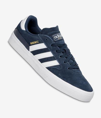 regla Folleto acortar  adidas Skateboarding Busenitz Vulc II Shoes (navy white gold melange) buy  at skatedeluxe