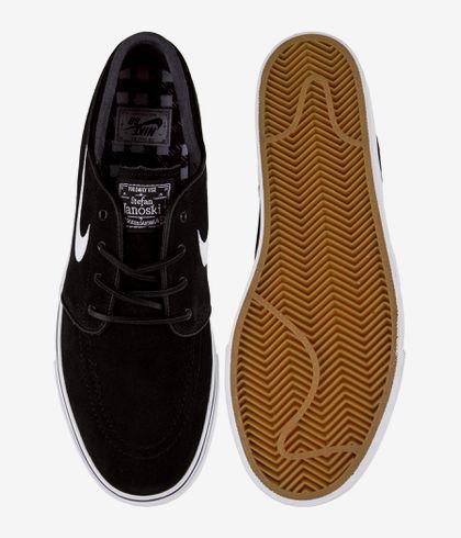 invierno cortar a tajos Sentido táctil  Nike SB Zoom Stefan Janoski OG Shoes (black white gum light brown) buy at  skatedeluxe