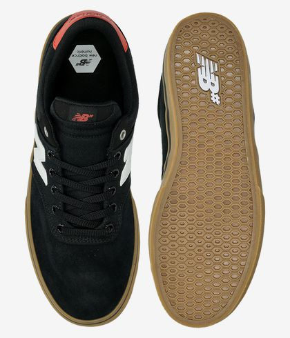 New Balance Numeric 255 Shoes (black white) buy at skatedeluxe